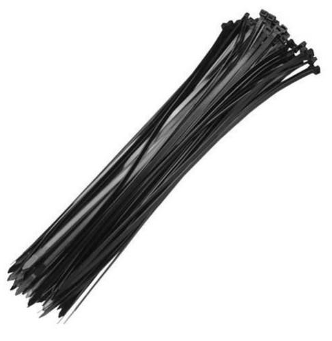 abracadeira lacre nylon 280 x 3.5mm preta com 100 pc fertak