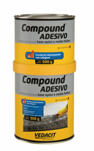 compound adesivo otto baumgart 1kg