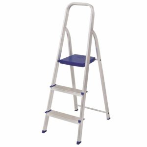 escada aluminio mor domestica 03 degraus 1.12x0.39cm