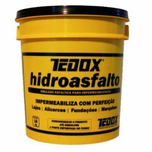 hidroasfalto 18kg tedox