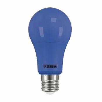 l�mpada a60 led taschibra tkl 5w bivolt colors azul