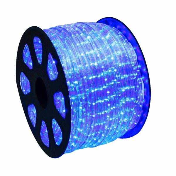 mangueira luminosa 13mm c led 2 fios 127v transparente taschibra mt