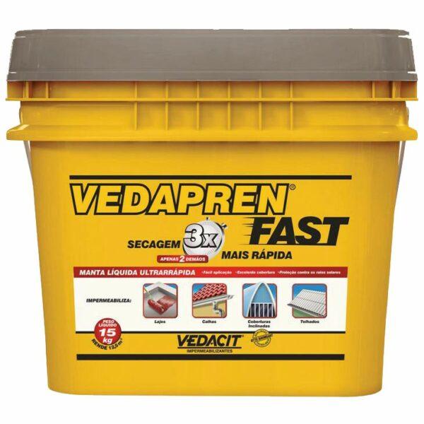 manta asfaltica liquida vedapren fast 15kg concreto otto baumgart
