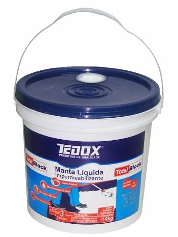 manta liquida branco 14kg tedox total total block
