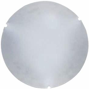 plafon redondo vidro liso fosco jurere 25 cm branca taschibra