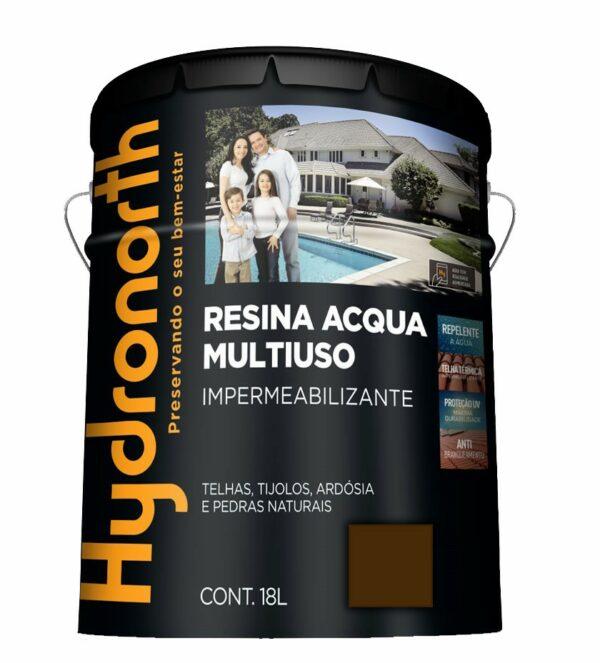 resina acrilica base agua 18l vermelho oxido hydronorth