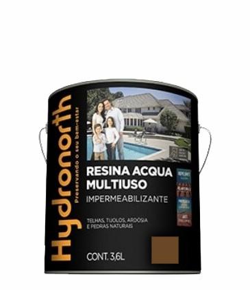 resina acrilica base agua 3.6l caramelho hydronorth