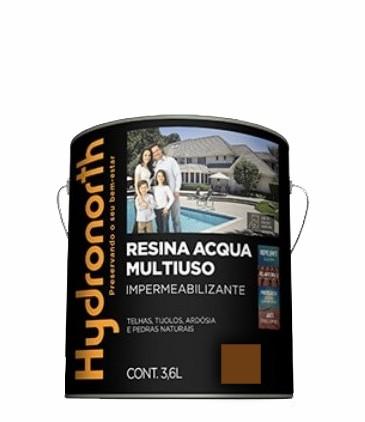 resina acrilica base agua 3.6l ceramica onix hydronorth