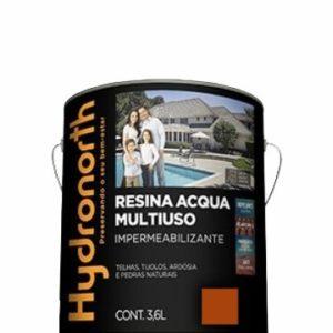 resina acrilica base agua 3.6l ceramica telha hydronorth