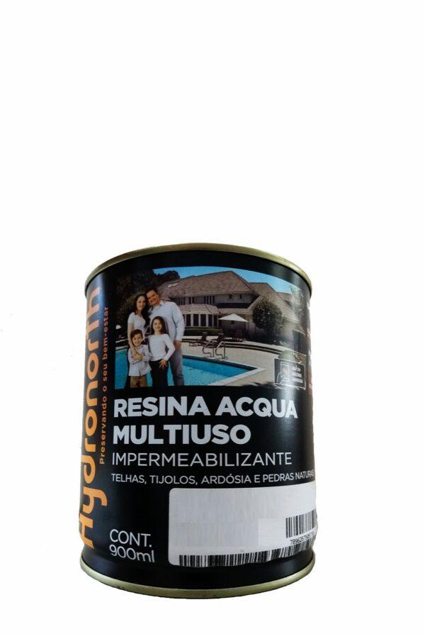 resina acrilica base agua 900ml incolor alto brilho hydronorth 1