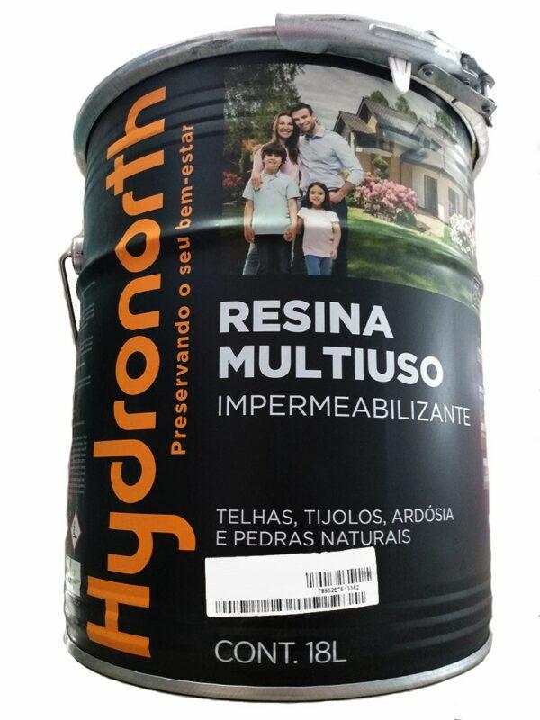 resina acrilica base solvente 18l incolor alto brilho hydronorth