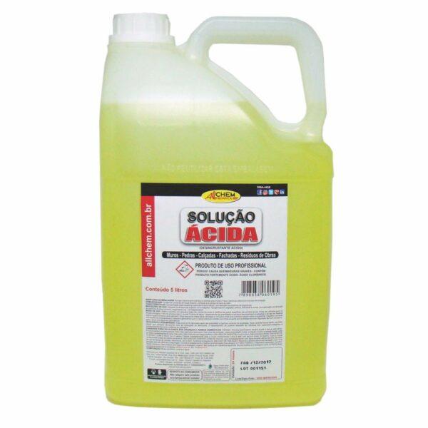 solucao acida de limpeza alvo allchem 5l