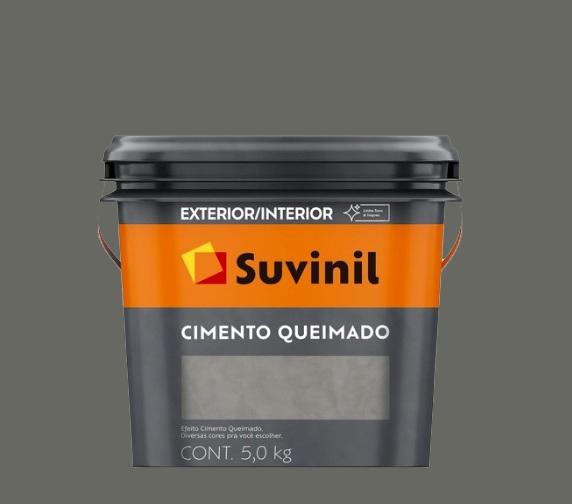 suvinil cimento queimado t�nel de concreto 5.0kg
