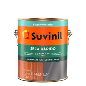 suvinil esm. acetinado seca r�pido 3.6lt branco 1