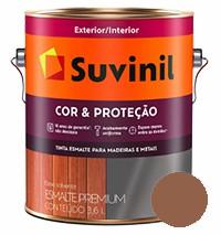suvinil esm. sint. alto brilho 3.6lt marrom conhaque
