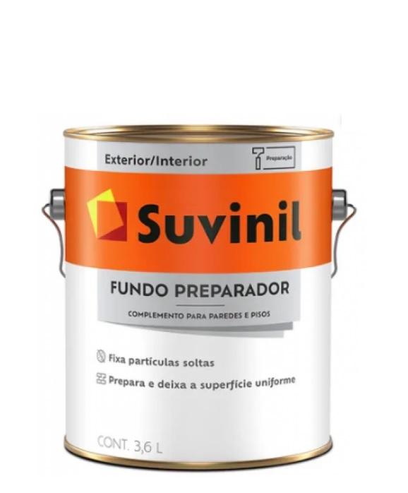 suvinil fundo preparador parede base �gua 3.6lt