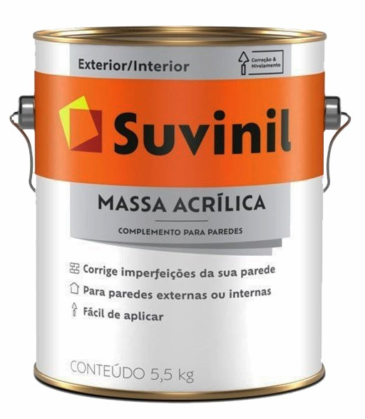 suvinil massa acr�lica exterior 3.6lt
