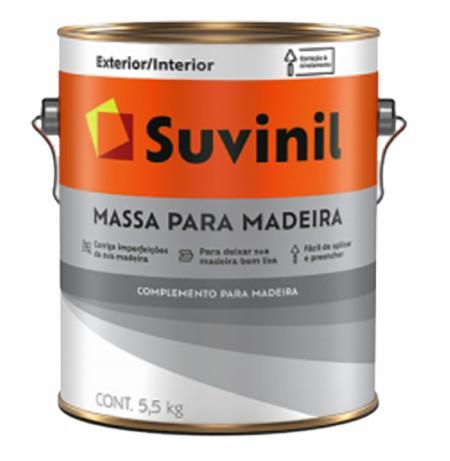 suvinil massa para madeira 3.6lt