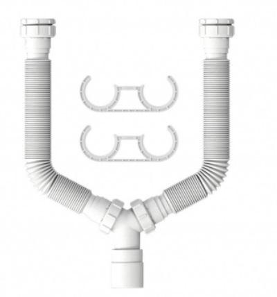 tubo extensivo censi universal 72cm com rosca duplo branco