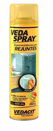veda spray impermeabilizante para rejuntes aerosol 400ml