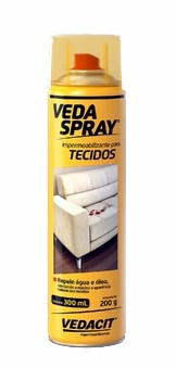 veda spray impermeabilizante para tecidos 300ml otto baumgart
