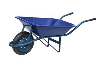 carrinho de mao paraboni plastico inje. pneu camara aro pl. azul 100194