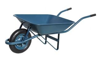 carrinho de mao paraboni pneu camara aro plastico azul 27167