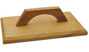 desempenadeira de madeira paraboni 18x30cm 2262