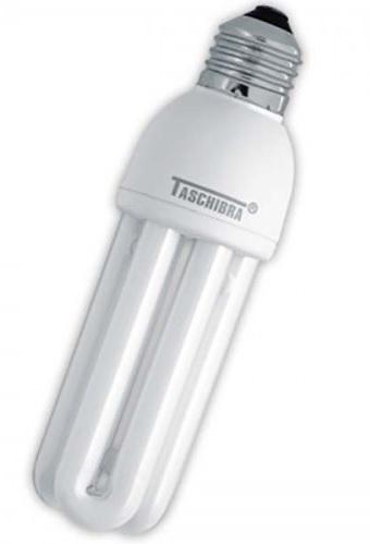 lampada compacta taschibra 15w 127v compl. com reator branca
