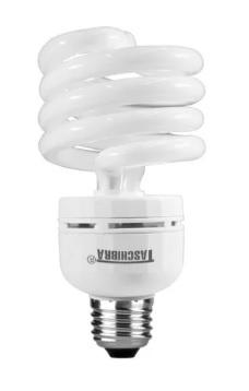 lampada compacta taschibra 32w 220v espiral compl. com reator branca