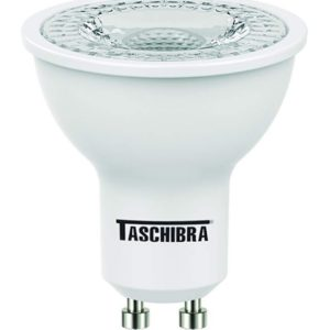 lampada dicroica led taschibra tdl250 3w 6500k gu10 br bivolt