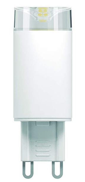 lampada led taschibra prime g9 25 3w 3000k bipino bivolt