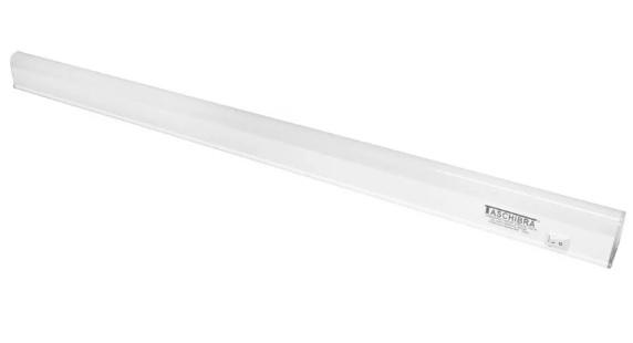 luminaria linear led 60 taschibra com 1l 7w 700lm 6500k bivolt
