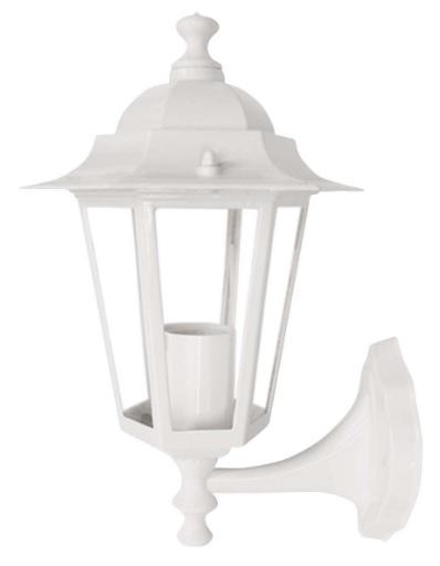 luminaria taschibra arandela colonial aluminio tlf 26 branca