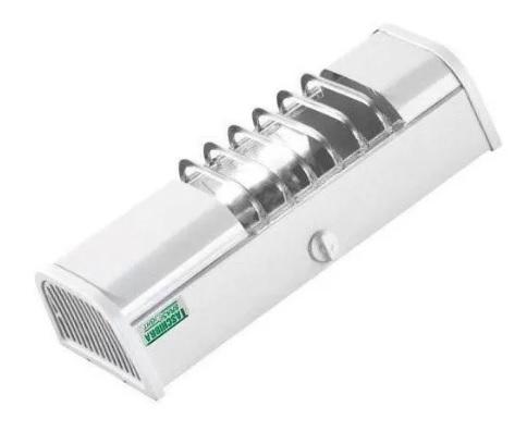 luminaria taschibra calha ta 6 para 1 lamp. compacta branco