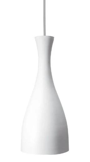 luminaria taschibra pendente branco fosco td1003