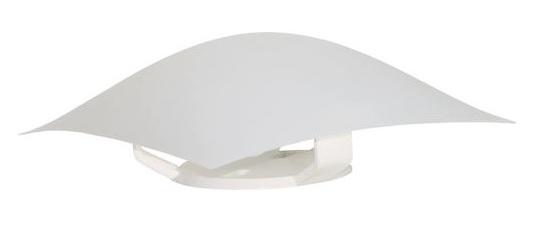 plafon taschibra solari plastico branco quadrado