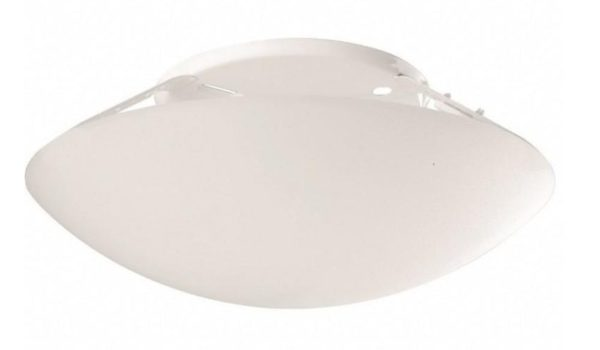 plafon taschibra solari plastico branco redondo
