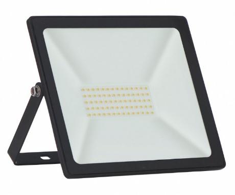 refletor taschibra int. ext. super led 6500k 50w trled50 slim pt biv.