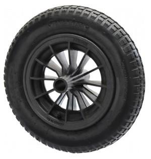 roda para carrinho de mao com camara e pneu aro plast. paraboni 8 28047