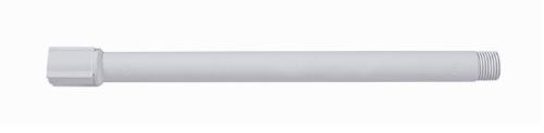 braco para chuveiro astra pvc branco com luva 1 2 30cm ceb30