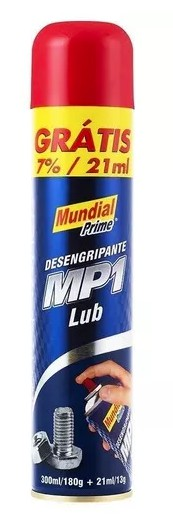 desengripante mp1 321ml spray mundial prime