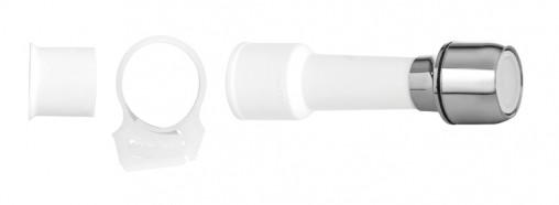extensor blukit p. torneira s. rosca branco 09cm