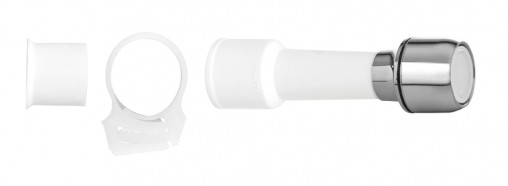extensor blukit p. torneira s. rosca branco 14cm
