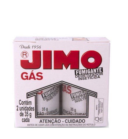 jimo gas 35g com 2 tubos