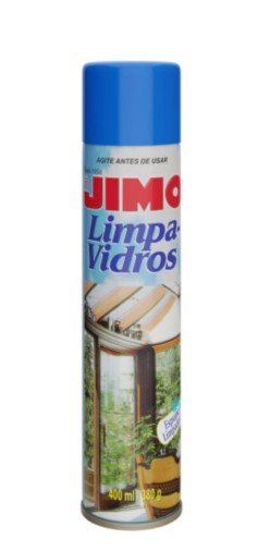 jimo limpa vidro aerosol spray 400ml