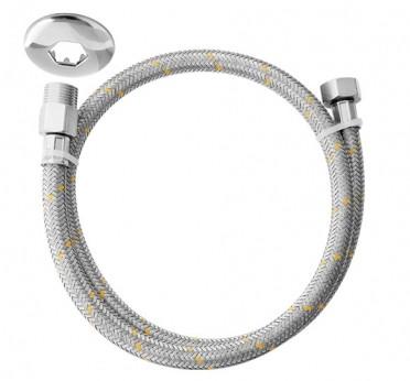 ligacao flexivel blukit p. gas 1.20m inox