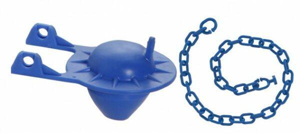 obturador univ. p. caixa acoplada p. saida agua c. corrente blukit