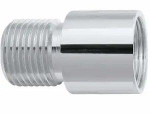 prolongamento p. torneira blukit cromado 20mm 1 2