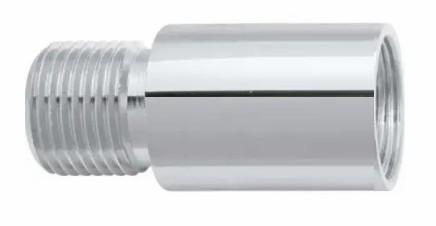 prolongamento p. torneira blukit cromado 40mm 1 2
